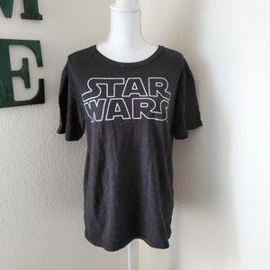 Star Wars Galaxy Short Sleeve T-Shirt Sz M